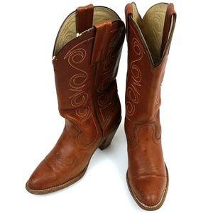 Frye Heeled Western Cowgirl Boots 7095